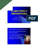 Climaterio y Menopausia. 2009. UNC