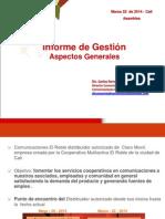 Informe de Gestion El Roble