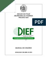 Manual Dief