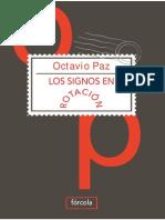 Paz, Octavio - Los Signos en Rotación