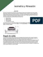 Direccion y Alineación Del Auto