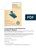 The Introduction of Self-Registering Meteorological Instruments by  George Forrest Browne