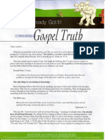 Andrew Wommack You Already Have It Newsletter