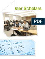 1ZB3 McMaster Scholars - Booklet Content