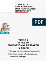 02 Types of Educational Research