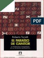El Paraíso de Cantor. La Tradición Conjuntista en La Filosofía Matemática. Roberto Torretti
