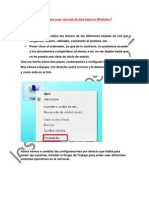 Manual Para Crear Una Red de Área Local en Windows 7
