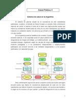 Sistema de Salud en La Argentina. Resumen