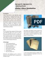 Cellular Glass Datasheet