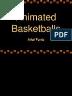 Animated Basketball Background