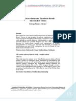 A contra-reforma do Estado no Brasil