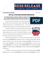 2014 ASG Rosters Announced_070614