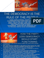 The people's Democracy & the Social System