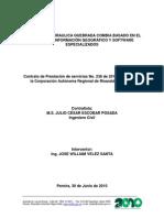 Modelación Hidraulica Quebrada Combia Basado en El Sistema de Información Geográfico y Software Especializados