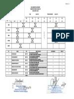 Jadual Waktu KELAS SKS 1A - Sesi Julai 2014