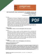 Mos Maiorum Como Instrumento de Control Social de La Nobilitas Romana - Francisco Pina Polo