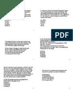 Nagle Notes on Pharmacology