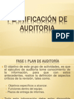Planificación de Auditoria