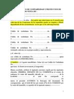 Acuerdo Marco de Confiabilidad y Proteccion de Comisiones