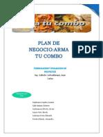 Plan de Negocio Arma Tu Combo Tercera Entrega