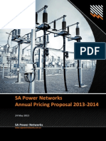 SA Power Networks - 2013-14 Annual Pricing Proposal - Revised 24 May 2013