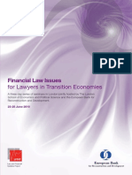 Financial Law Issues