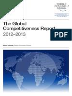 WEF GlobalCompetitivenessReport 2012-13