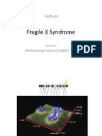 Lecture 1_Molecular Mechanism of Human Disease_Fragile X Syndrome