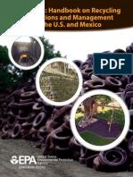 EPA Scrap Tire Handbook on Recycling Management