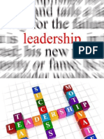 LECTURE 1 Leadership