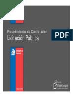 (3) Licitación Pública