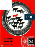 Enciclopedia Uruguaya 24 La Estancia Alambrada