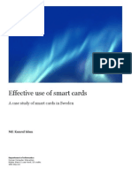 Effective Use of Smart Cards 2012 Sweden Study