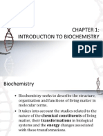 1-Chapter 1 Introduction to Biochemistry