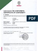 DIP5000 Certificate