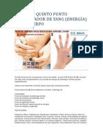 Cuarto y Quinto Punto Recuperador de Yang_consultorio Dr Huan