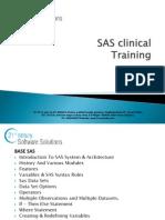 SAS Clinical Training| SAS Clinical Online Training