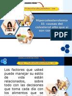 Hipercolesterolemia II Causas Del Colesterol Alto Que Sí Son Controlables