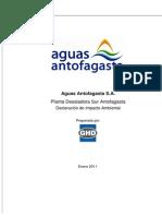 Caracterizacion de Salmuera Aguas Antofagasta