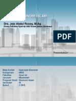 Silabus Mata Kuliah Ayat Ayat Ekonomi Islam