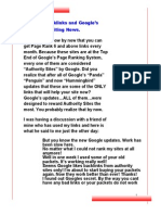 Angela`s backlinks and google indexing update