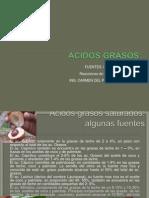 ACIDOS GRASOS