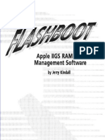 Flashboot Apple IIGS RAM Disk Managment Software