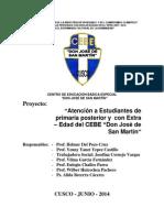 Proyecto Primaria Posterior y Extra Edad