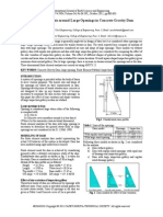 3 D Stress Analysis Around Large Openings in Concrete Gravity Dam (2011) - Paper (4)