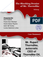 Presentasi Kasus (Mr Thorndike)