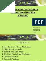 Green Marketing Ppt