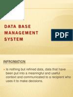 DBMS - Concepts