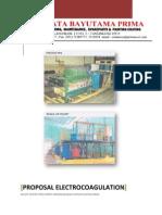 Proposal Elektrokoagulasi Dari PT. Frata Bayutama Prima