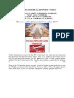 Mh 370 the Sacrificial Prophesy Unveils nwo?